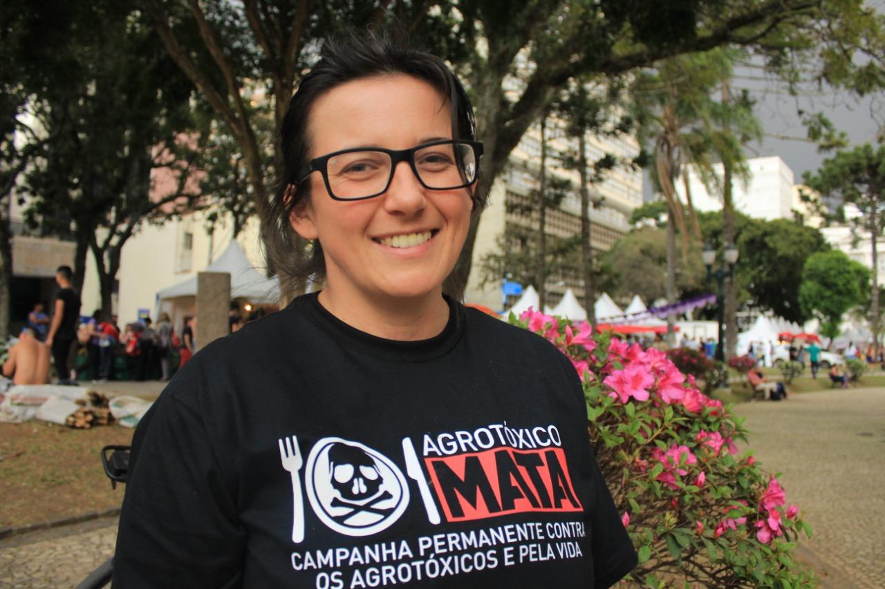 Ana protege e cultiva 26 variedades de sementes crioulas / Foto: Lizely Borges