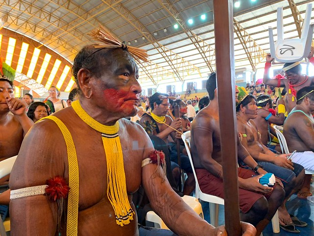 Evento realizado em Marabá reuniu diferentes povos da Amazônia (foto: Catarina Barbosa/Brasil de Fato)
