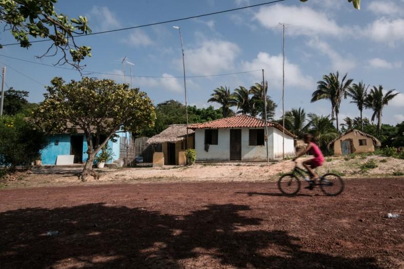 Comunidade quilombola no município de Alcântara (MA). Foto: Ana Mendes/ISA