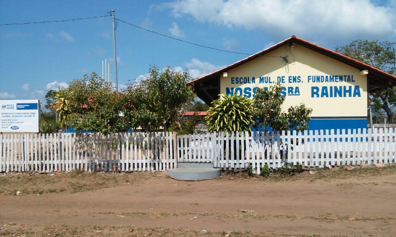 Comunidade reivindica ampliação do equipamento público para educação. Foto: STTR Santarém