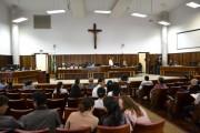 Primeiro júri de Augusto Barbosa da Costa, em fevereiro de 2013.
