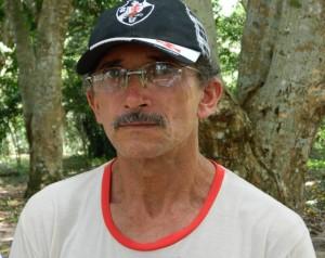 Luiz Matos de Lima, liderança comunitária de Pimental (Foto: Ramon Santos)