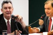 Heinze e Alceu Moreira_Fotos: Antonio Augusto e Lucio Bernardo Jr. / Câmara dos Deputados