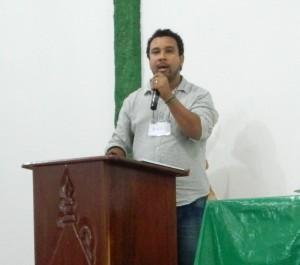 Denildo Rodrigues, da Coordenação Nacional das Comunidades Quilombolas – CONAQ