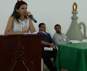 Erina Gomes, assessora jurídica da Terra de Direitos
