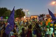 Atividades culturais no Sarau Linha de Frente
