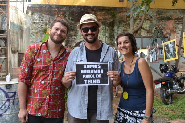 O Trio Curucaca apóia a comunidade Paiol de Telha