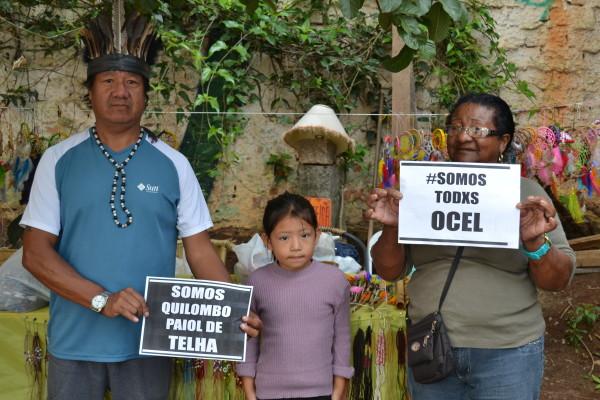 Tuchawa e sua família, Érica e Sônia