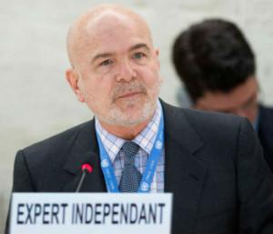 Michael Forst, ralator da ONU