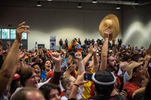 (Foto: Reprodução/Encuentro Mundial de Movimientos Populares)