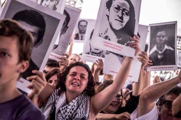"""Deputado menciona casos da ditadura militar para ilustrar a raiz histórica do termo """"terrorismo"""". Foto: Mídia Ninja/CC BY-NC-SA 2.0"""