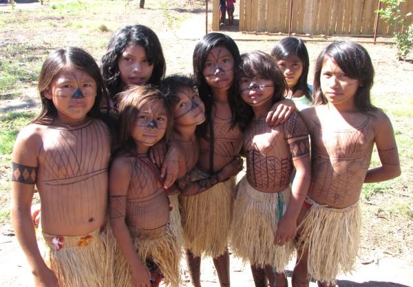 Foto: Layza Queiroz/ 1ª Conferência Nacional de Políticas Indigenistas, etapa local na aldeia Karapanatuba, em Jacareacanga, no Pará.