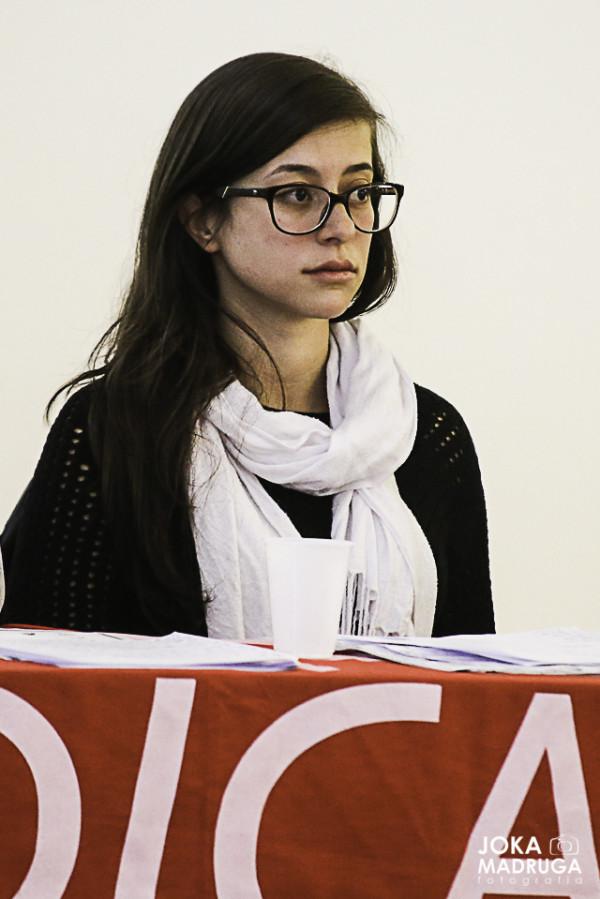 Maiara Bitencourt, assessora jurídica da Terra de Direitos. Foto: Joka Madruga.