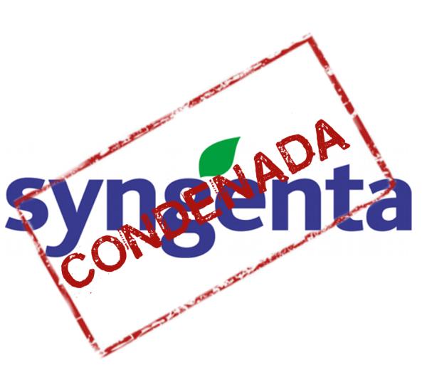 Syngenta Condenada