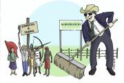 Agronegócio x direito à terra (Lucas Fier - junho 2015)
