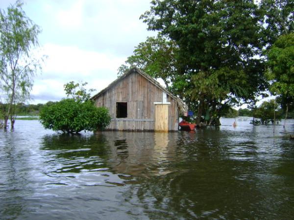 Quilombo Maicá, uma das comunidades que vai ser afetada com a construção dos portos
