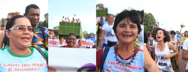 Fotos, por Bob Barbosa: Ato Público realizado em defesa do Lago do Maicá, 08 de março de 2016