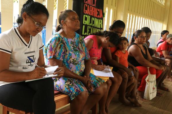 Oficina para Protocolo de Consulta na comunidade quilombola do Arapemã