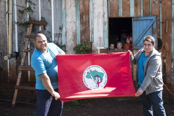 Messias (à esquerda) e Cezar (à direita), dois dois cinco filhos de Sebastião Camargo (foto: Gisele Arabori)