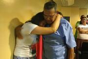 Claudelice Santos, irmã do extrativista José Cláudio Ribeiro, emociona-se ao saber da condenação de José Rodrigues Moreira / Lilian Campelo/ Brasil de Fato