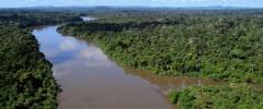 Rio Jamanxim, no oeste do Pará: áreas protegidas podem ser alteradas pelo governo / Foto / Divulgação