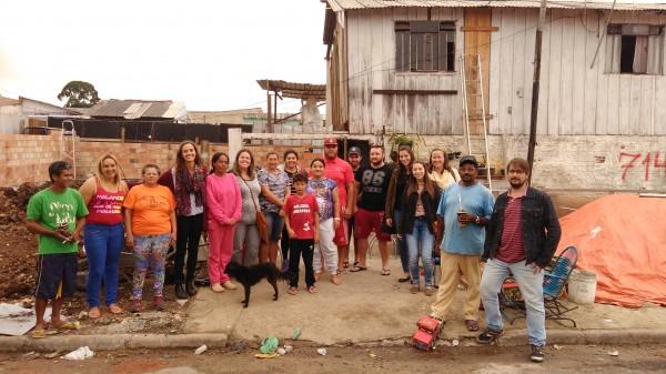 Comunidade estabeleceu parceria para a construção de um projeto durante reunião no últomo dia 27 (fotos: Matheus Mafra)